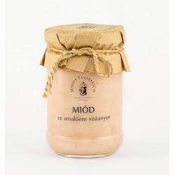 Miód ze smakiem różanym 350g