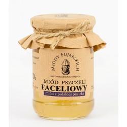 Miód pszczeli faceliowy 350g